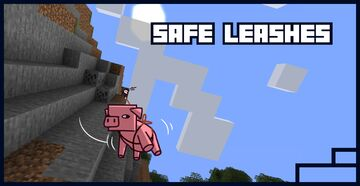 Safe Leashes Minecraft Data Pack