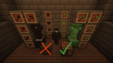 Obsidian X Emerald (Data/Resource Pack) REMASTERED!!! Minecraft Data Pack