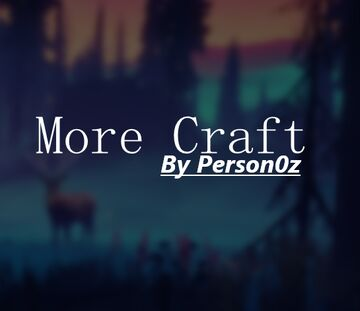 More Craft - Advancements, crafting and MORE Minecraft Data Pack