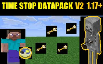 Time Stop Datapack V2 Minecraft Data Pack