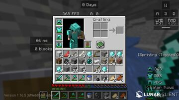 sneaking gives diamonds Minecraft Data Pack