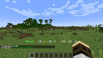 Minecraft Datapack Better Coords - 1.18 Compatible Minecraft Data Pack