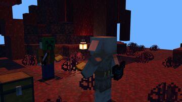 Minecraft But Piglin Bartering is OP!! Minecraft Data Pack