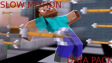 MINECRAFT BUT EVERYTHING IS SLOW! Minecraft Data Pack