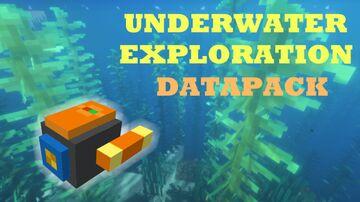 UNDERWATER EXPLORATION DATAPACK [Marine wonders event] Minecraft Data Pack