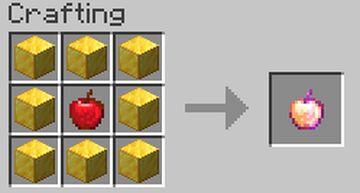 Craft Enchanted Golden Apple Data Pack Minecraft Data Pack