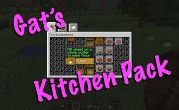 KitchenPack Minecraft Data Pack