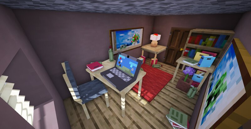 Room made with the Default Props prop pack