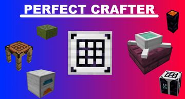 Perfect Custom Crafter!(Autofill, In-Game recipe creation, No code required, and More) Minecraft Data Pack