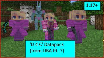 D4C From Jojo's Bizarre Adventure Part 7: Steel Ball Run (1.17+) Minecraft Data Pack