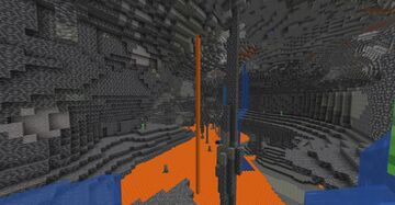 Minecraft, but there are NO AQUIFERS (21w42a) Minecraft Data Pack
