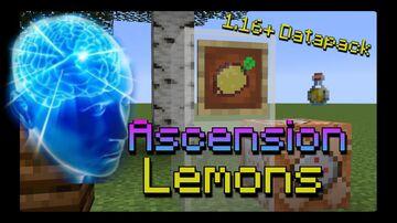 Ascension Lemons - See Mobs Through Walls Using Lemonade! Minecraft Data Pack