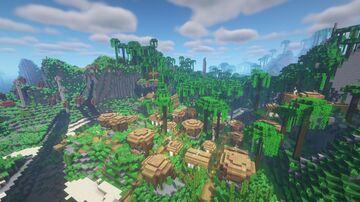 Tropical Villages (Overhauled Overworld Add-on) Minecraft Data Pack