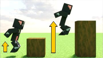 Minecraft But Each Jump = More Jump Boost Minecraft Data Pack