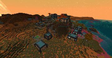 Norzeteus Space Savanna Outposts Datapack Minecraft Data Pack