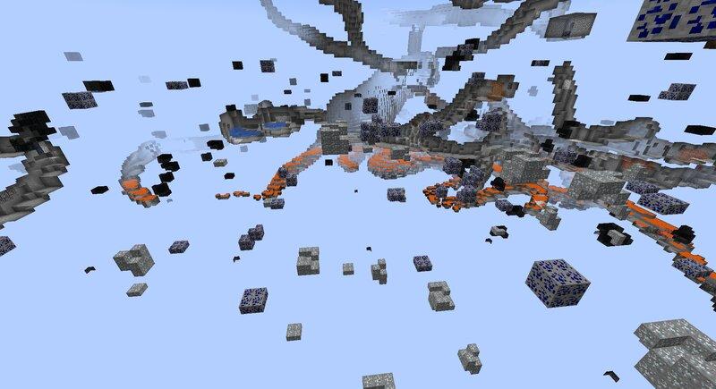 Custom Dimension Minerals Generation preview