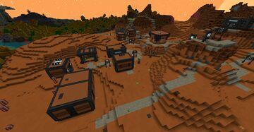 Norzeteus Space Desert&Badlands Outposts Minecraft Data Pack