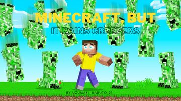 Minecraft, But it Rains Creepers Minecraft Data Pack