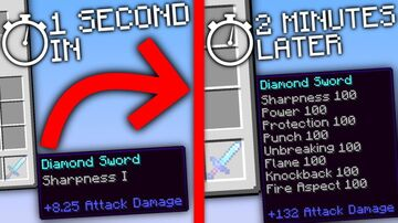 MINECRAFT BUT YOU ENCHANT EVERY SECOND BY BITTU5134 Minecraft Data Pack