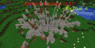 Realistic Explode v1.17 Minecraft Data Pack