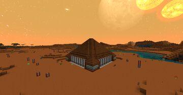 Norzeteus Space Pyramid Datapack Minecraft Data Pack