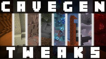 Cavegen Tweaks (v1.3) Minecraft Data Pack