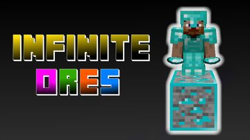 IF you stand on an ore, you GET IT!! (for Minecraft 1.16.5 - for PC) Minecraft Data Pack