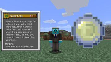 Flying Frog Origin Minecraft Data Pack
