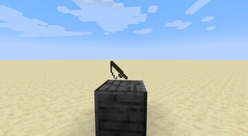 A Grappling Hook only made with a Datapack Minecraft Data Pack
