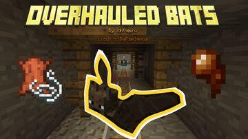 Overhauled Bats Minecraft Data Pack