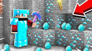 Minecraft but Diamond ore is op Minecraft Data Pack