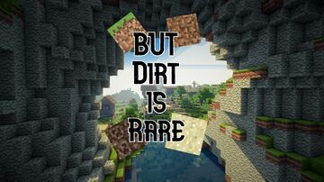 Dirt is Rare Minecraft Data Pack