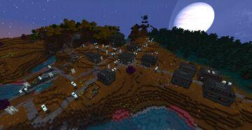 Norzeteus Space Plains Outposts Minecraft Data Pack