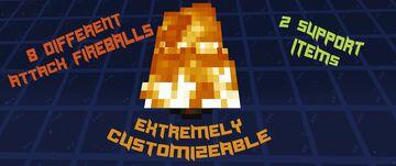 Fireball Frenzy Minecraft Data Pack