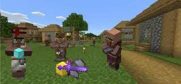 OP Hero of the Village Minecraft Data Pack