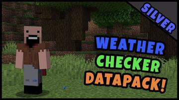 Weather Checker -- Datapack! Minecraft Data Pack