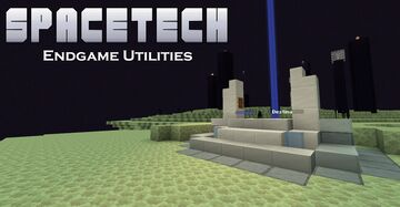 SpaceTech: Endgame Utilities - Microcapsule Structures, Teleporters & More! Minecraft Data Pack