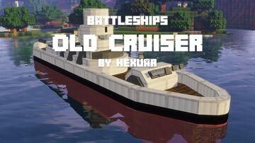 BattleShips 1: Old Cruiser Minecraft Data Pack