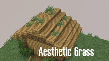 Aesthetic Grass Minecraft Data Pack