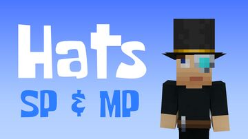 Hats for Single- and Multiplayer Minecraft Data Pack