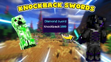 Knockback Swords Minecraft Data Pack