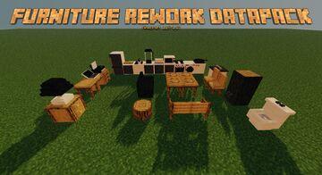 Furniture Datapack Rework Version Minecraft Data Pack