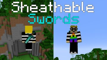 Sheathable Swords (1.16 Version) Minecraft Data Pack