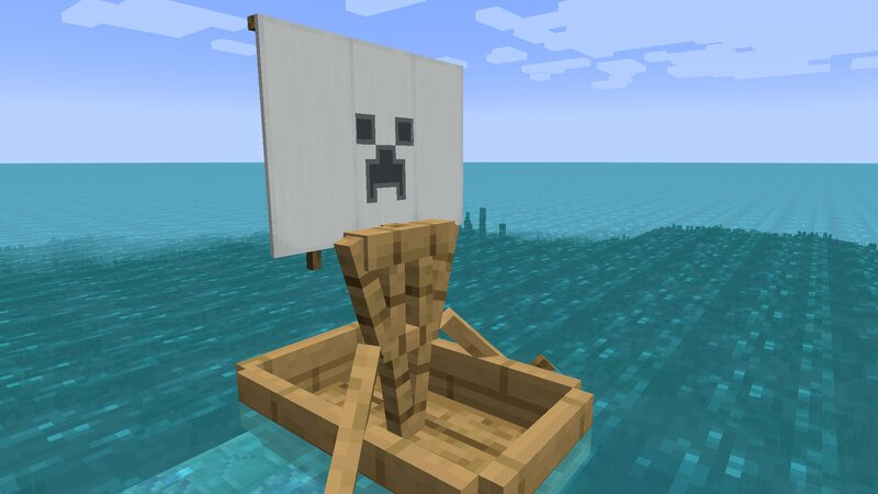 Creeper sail pattern- remember, there are many more!