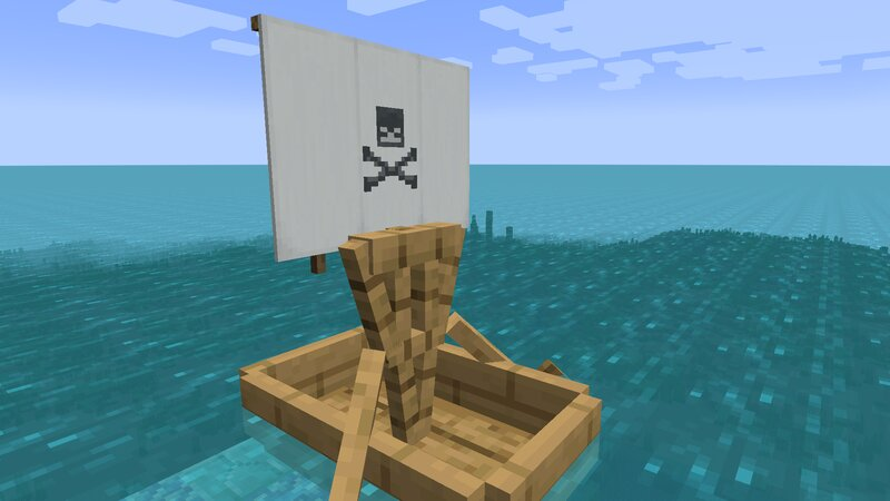 Skull sail pattern- remember, there are many more!