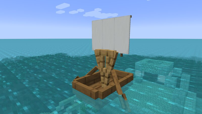 Spruce boat- you can use any type of wood!