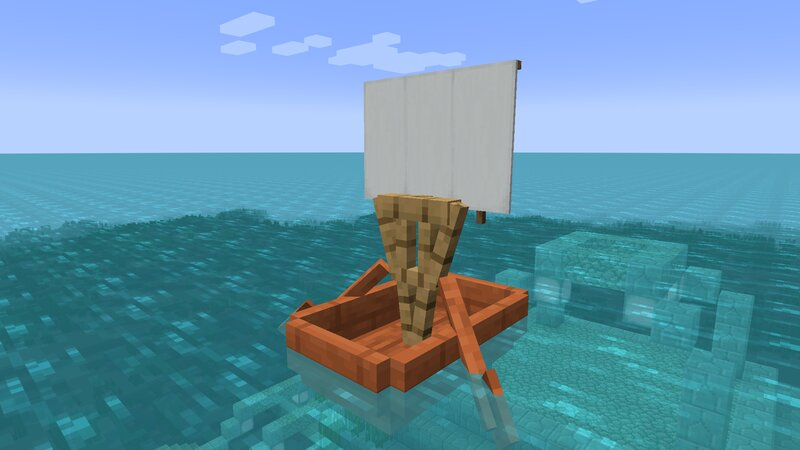 Acacia boat- you can use any type of wood!