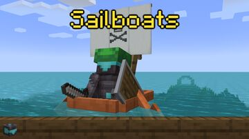 Chimerabot's Sailboats | Entry For Speed-Packing Datapack Contest | 1.17+ Minecraft Data Pack
