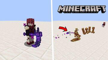 【Minecraft Custom Weapon Datapack】Death Sickle Minecraft Data Pack