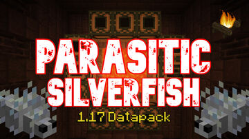 Parasitic Silverfish! Infested Stronghold | True Survival Datapack Minecraft Data Pack